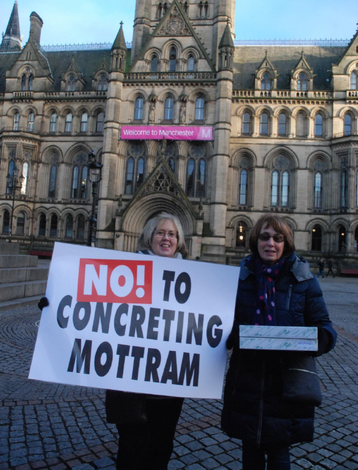 NO! to Concreting Motrram