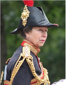 A picture of Princess Anne