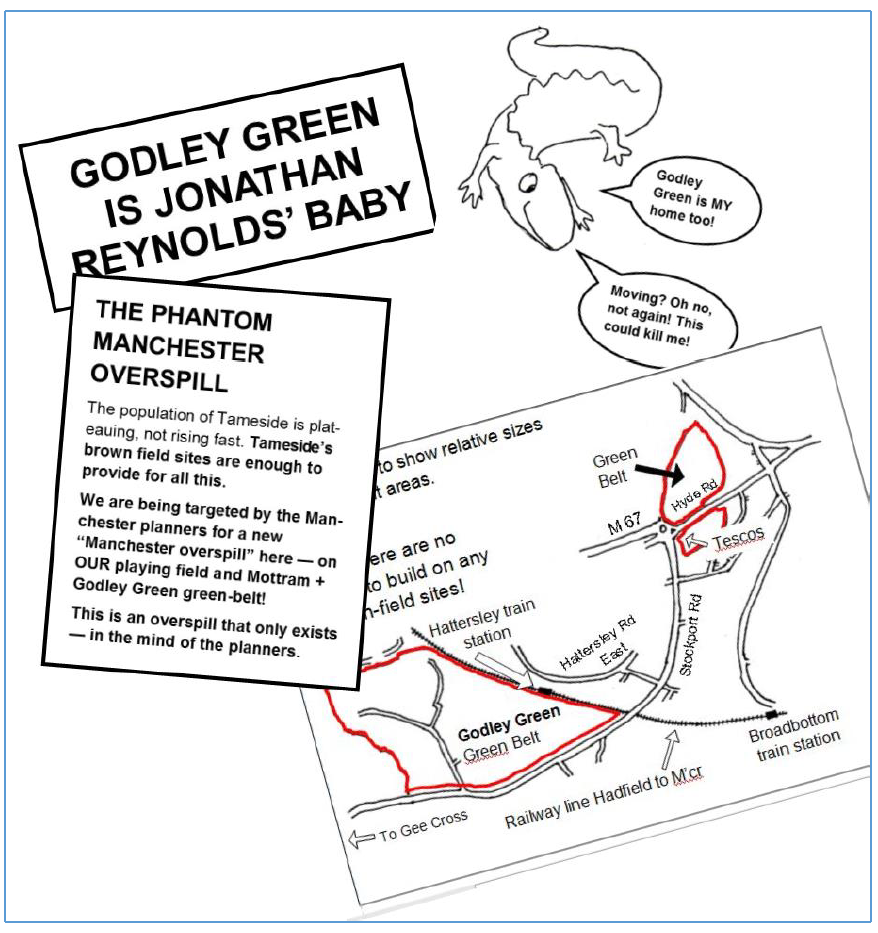 Godley Green is Johnathan Reynolds baby