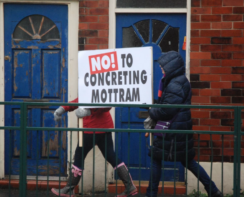 No to cocreting Mottram